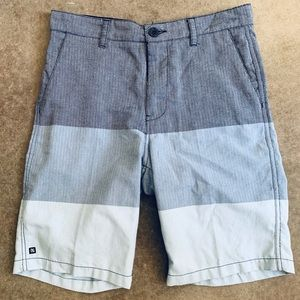 Boys Micros Shorts Gray Blue